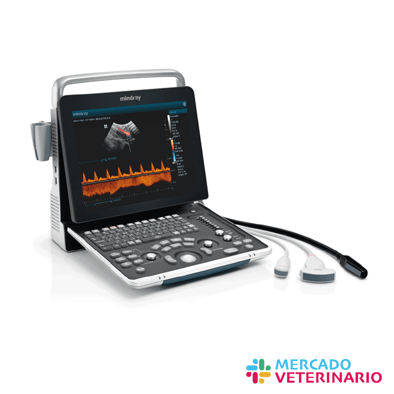 ultrasonido doppler pcolor pulsado y continuo para medicina veterinaria